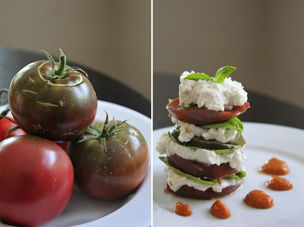 Tomato Stack Collage