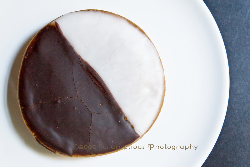 black and white cookies - 1