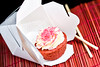 red velvet cupcake from kitchenette - 1