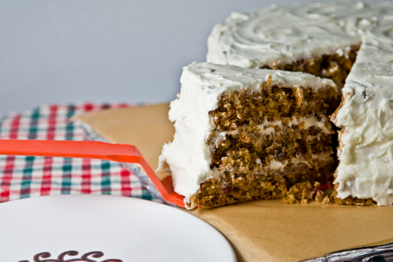 bill's big carrot cake - 6