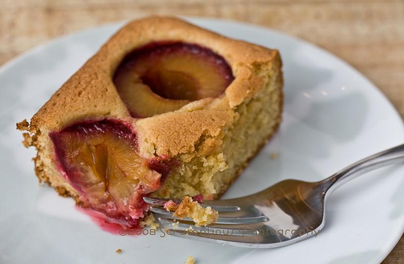 dimpled plum cake - 9