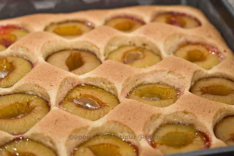 dimpled plum cake - 5