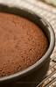 caramel popcorn brownie cake - 1