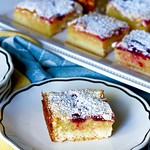 Blackberry Lemon Bars