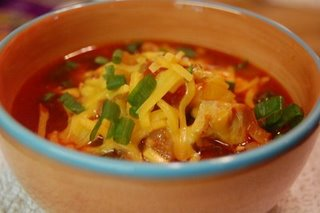 Chicken Chorizo and Tortilla Soup