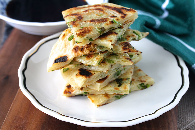 Chinese Scallion Pancakes (Cong You Bing)