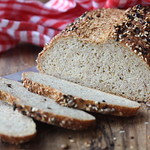 Ten Grain No Knead Bread Recipe