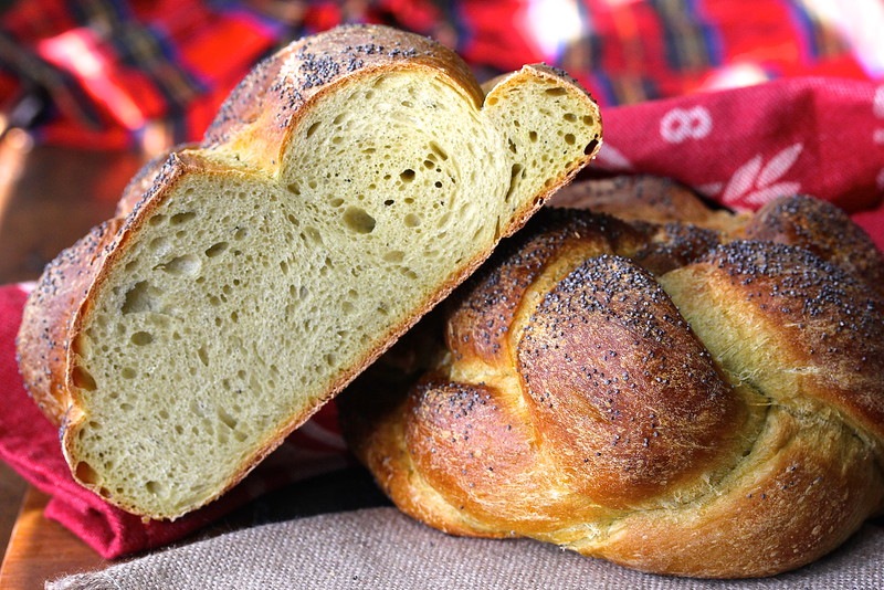 This Sourdough Golden Beet Braided Bread incorporates a puree of raw golden beets into the dough.