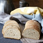 Velvety Bean Bread with Chives Recipe