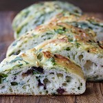 Spinach and Olive Focaccia Recipe