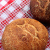 CI No Knead white and whole wheat
