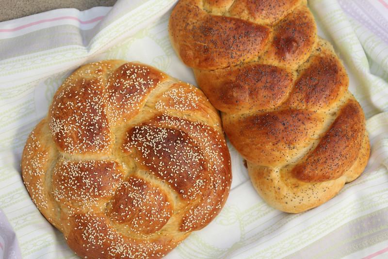 Demerara sugar and honey Challah