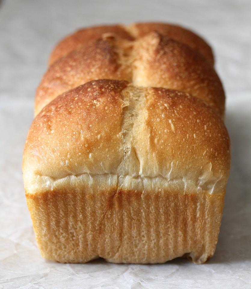 Sourdough Hokkaido Milk Bread with Tangzhong