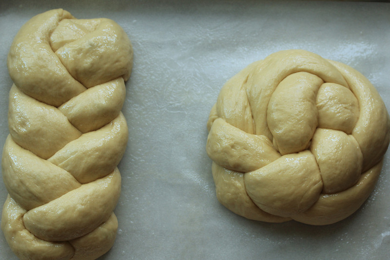 Demerara sugar and honey Challah