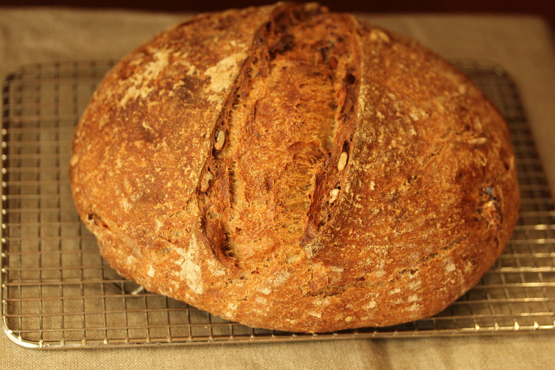 Amy's bread whole grain walnut sourdough