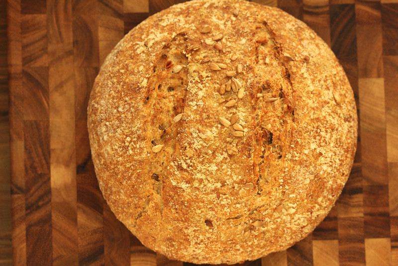 David Wolfe's sourdough rye with seeds
