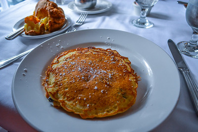 36$ Blueberry Pancakes