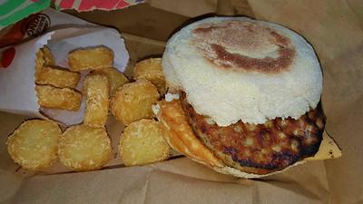 Sausage King Muffin