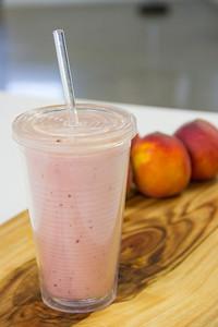 Summeripe Peach Smoothie from The Kitchen at Summeripe