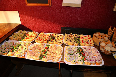 """Buffet Food. Served in """"the """"Nags Head Tavern"""" in Taunton  03/05/14"""