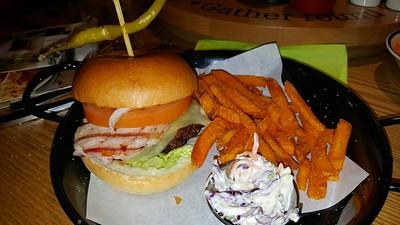 Cheese & Bacon Beef Burger