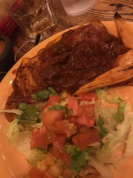 TAMALES & CHILI WITH PICO DE GALLO