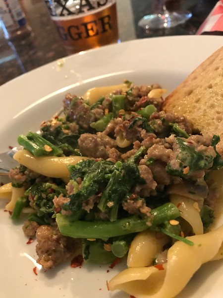 BROCCOLI RABE & SAUSAGE