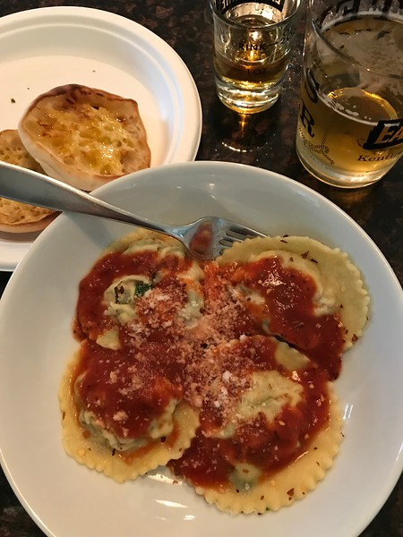 HOMEMADE CHEESE RAVIOLI