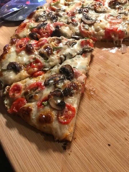 MUSHROOM, PEPPERS, GRAPE TOMATO