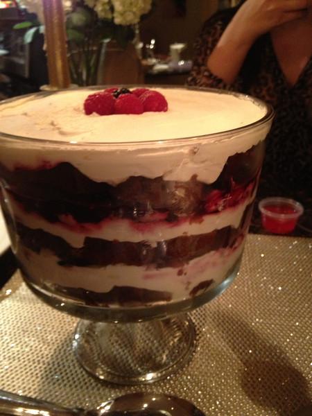 Choco Berry Trifle