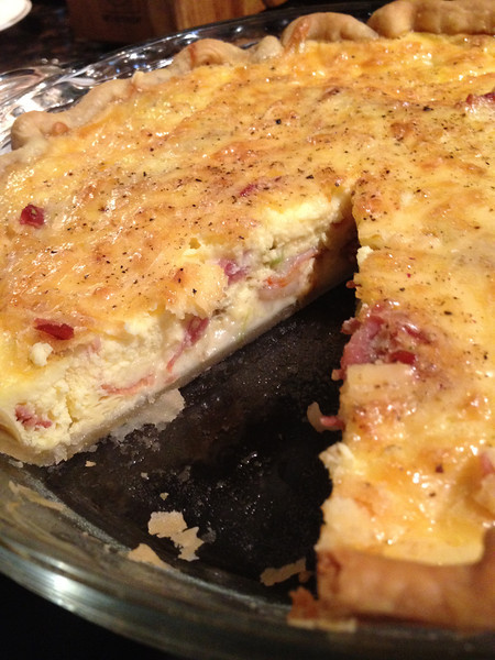 BACON EGG & CHEESE PIE