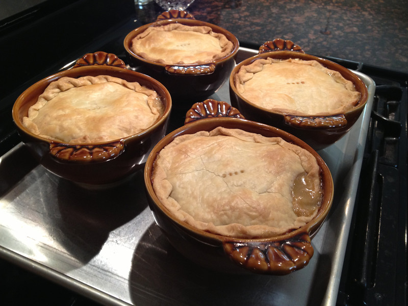 TURKEY POT PIE (EASY)