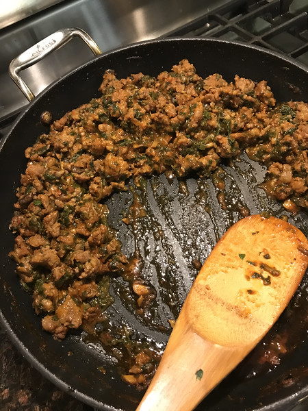 SAUSAGE AND RABE BREAD FILLING