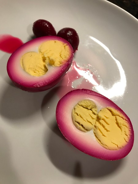 PERFECT PICKLED EGGS