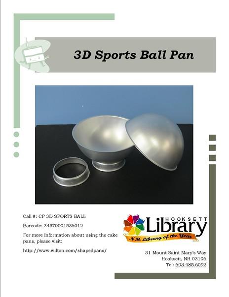 CP 3D SPORTS BALL