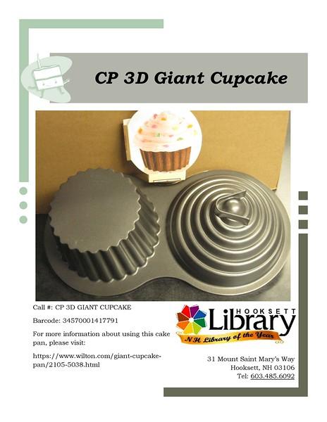 CP 3D GIANT CUPCAKE