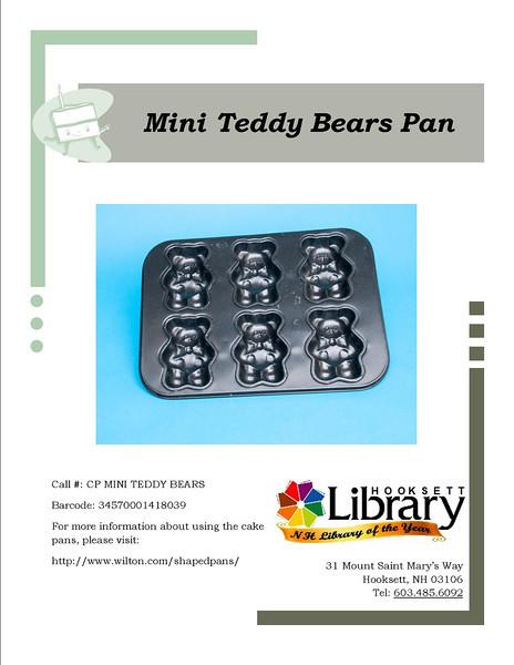 CP MINI TEDDY BEARS