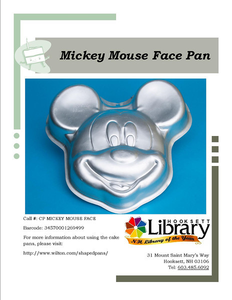 CP MICKEY MOUSE FACE