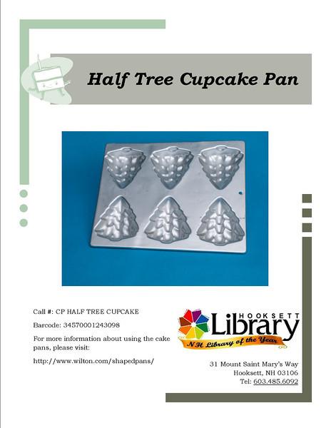 CP HALF TREE CUPCAKE