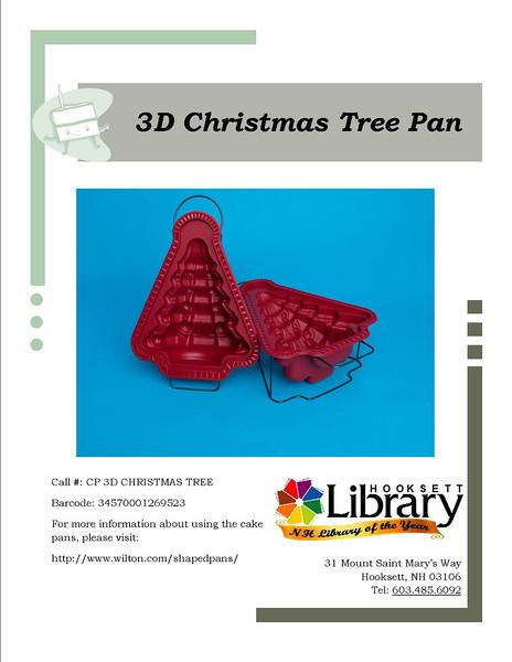 CP 3D CHRISTMAS TREE