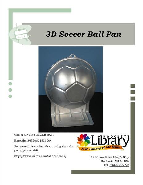 CP 3D SOCCER BALL