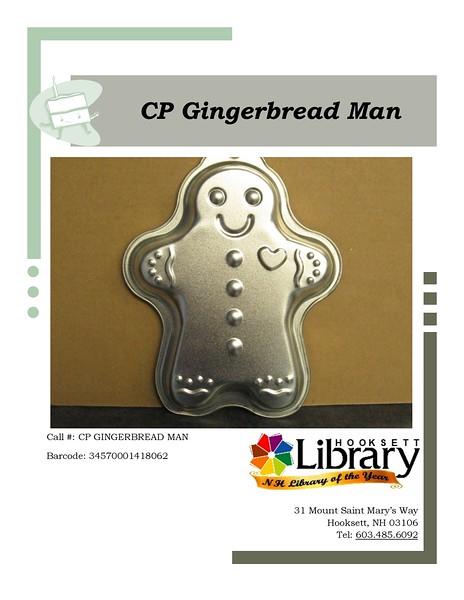 CP GINGERBREAD MAN