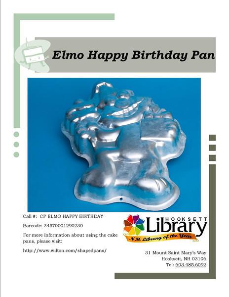 CP ELMO HAPPY BIRTHDAY