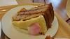 """Raspberry & Rose sponge. From """"Marks & Spencers"""" Cafe<br /> <br /> 23/06/15"""