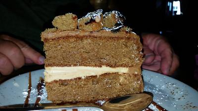 Sticky Salted Caramel Cake