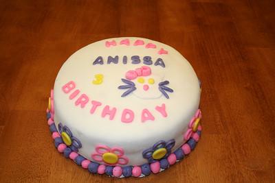 Anissa's 3rd Birthday Cake 2008
