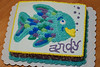 Cake #2: Wilton class cake for Andy's birthday