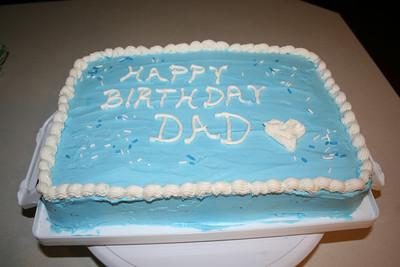 Dad's Cake 2011