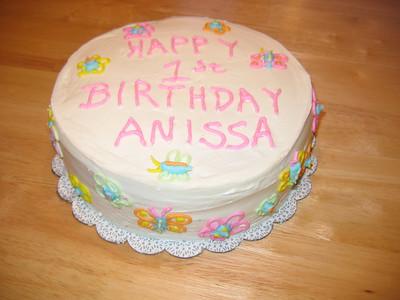 Anissa's 1st Birthday Cake 2006