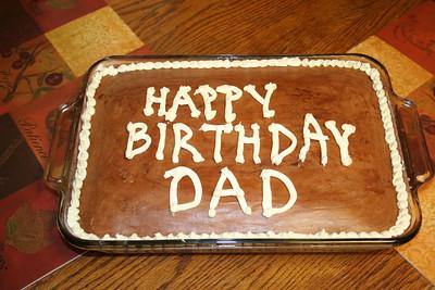 Dad's Cake 2012